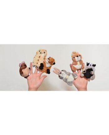 Woodland Finger Puppet Set