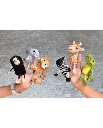 African Finger Puppet Set