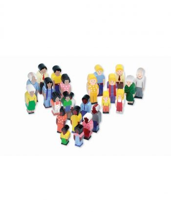 Wooden People of the World Set