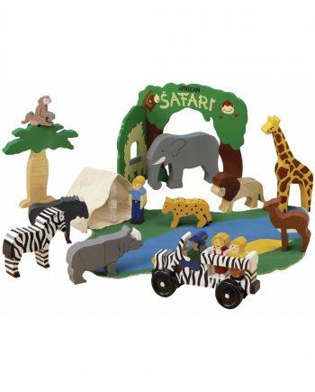 Wooden African Safari