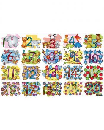 Numbers Midi Floor Puzzle