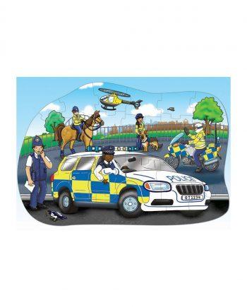 Big Police Car Puzzle