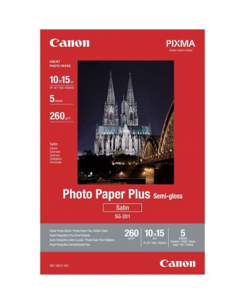 Photo paper plus semi gloss sg-201
