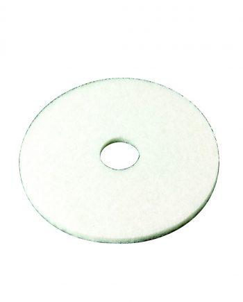 15 White Floor Pad