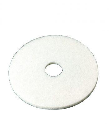 17 White Floor Pad