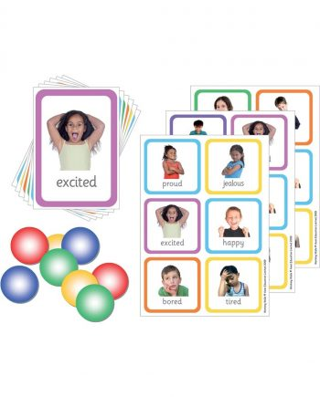Emotions Photo Lotto Game