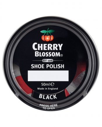 Cherry Blossom Black Shoe Polish