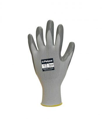 Nitrile Palm Coated Gloves Size 8