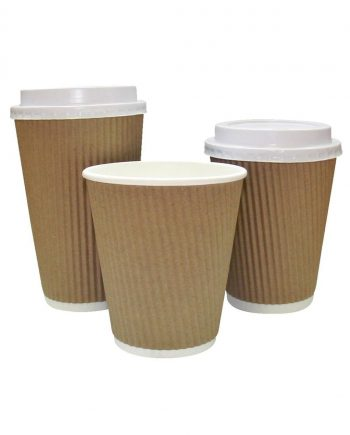 12oz Travel Ripple Cups