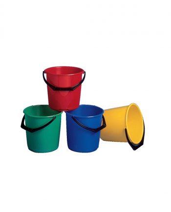 9 Litre Bucket, Red