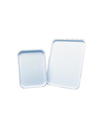 46cm White Plastic Tray