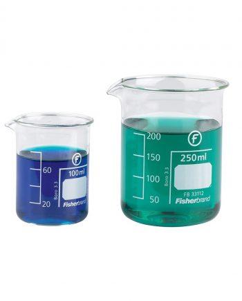 Glass Measuring Beakers 250ml