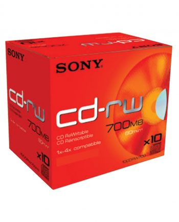 CD-RW 4x Pack of 10
