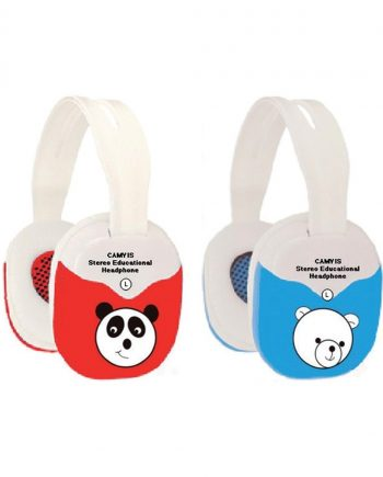Animal Headphones Volume Control - Red