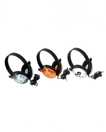 CAV-123 Animal Stereo headphone - Zebra