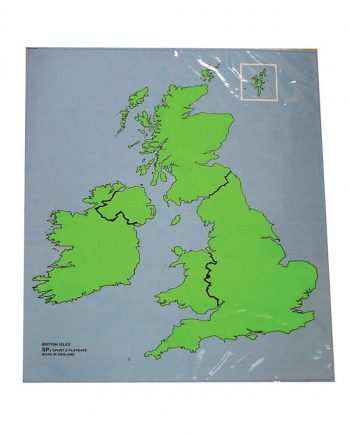 Outline Map Play Mats - British Isles