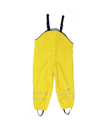 Childs Waterproof Fleece Lined Dungarees