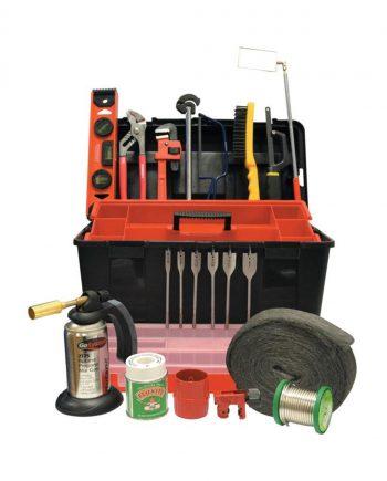 22 Piece Plumbers Tool Kit