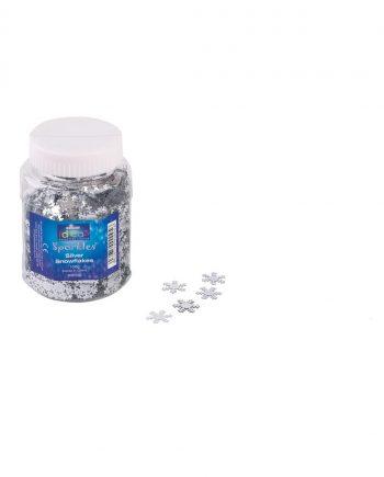 Silver Snowflakes 100g