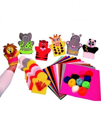 Animal Puppets Craft Kit