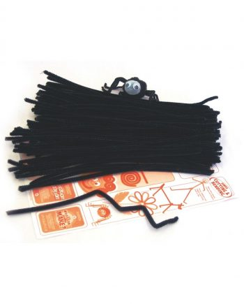 Pipe Cleaners - Black 4mm x 300mm