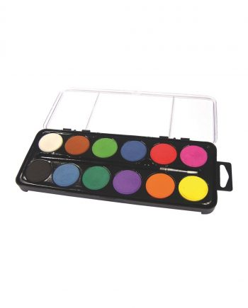 12 Disc Watercolour Set