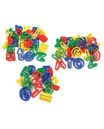 Alphabet & Number Dough Cutters