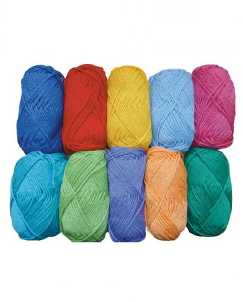 Coloured Craft Cotton 50g