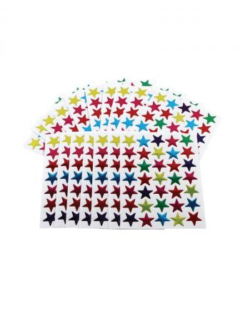 20mm Coloured Stars