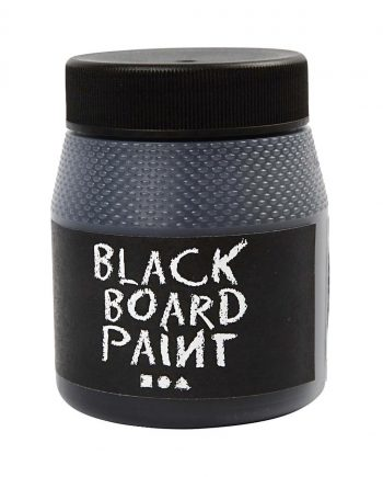 Blackboard Paint - Black, 250ml