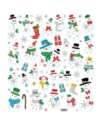 Fancy Stickers, Snowmen