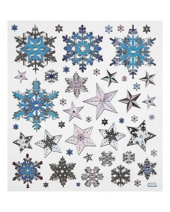 Fancy Stickers, Snow Crystals