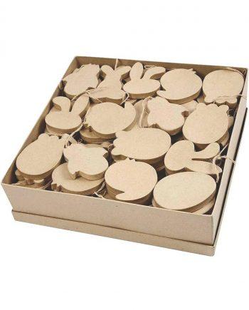 Papier Mache Shapes - Easter Ornaments