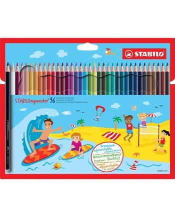 Stabilo Aquacolor Pencils