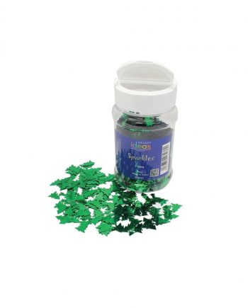 Christmas Tree Glitter Shapes 100g