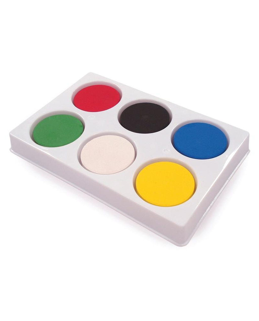 6 Well Block Palette With Paint