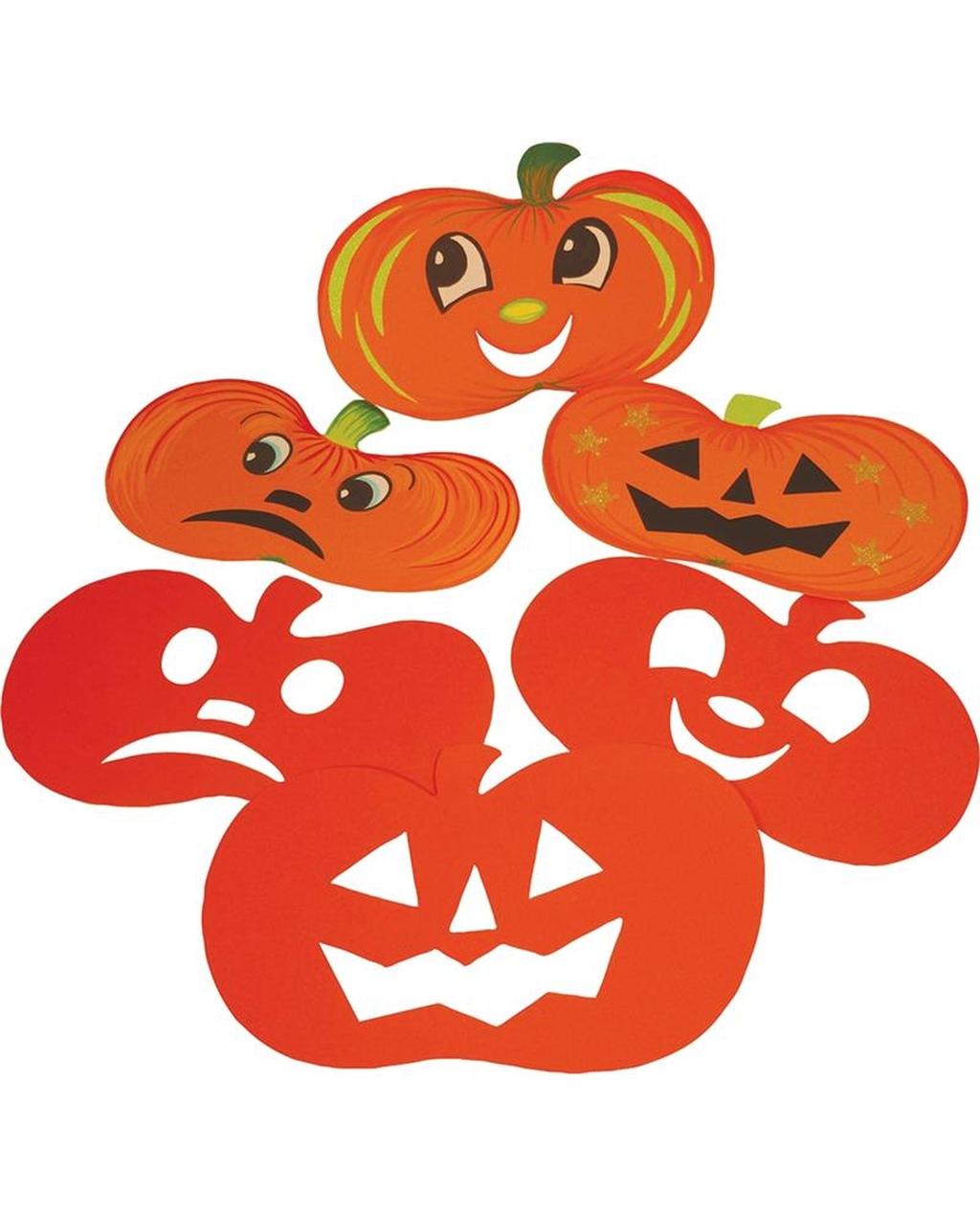 Pumpkin Cut Out Display Shapes