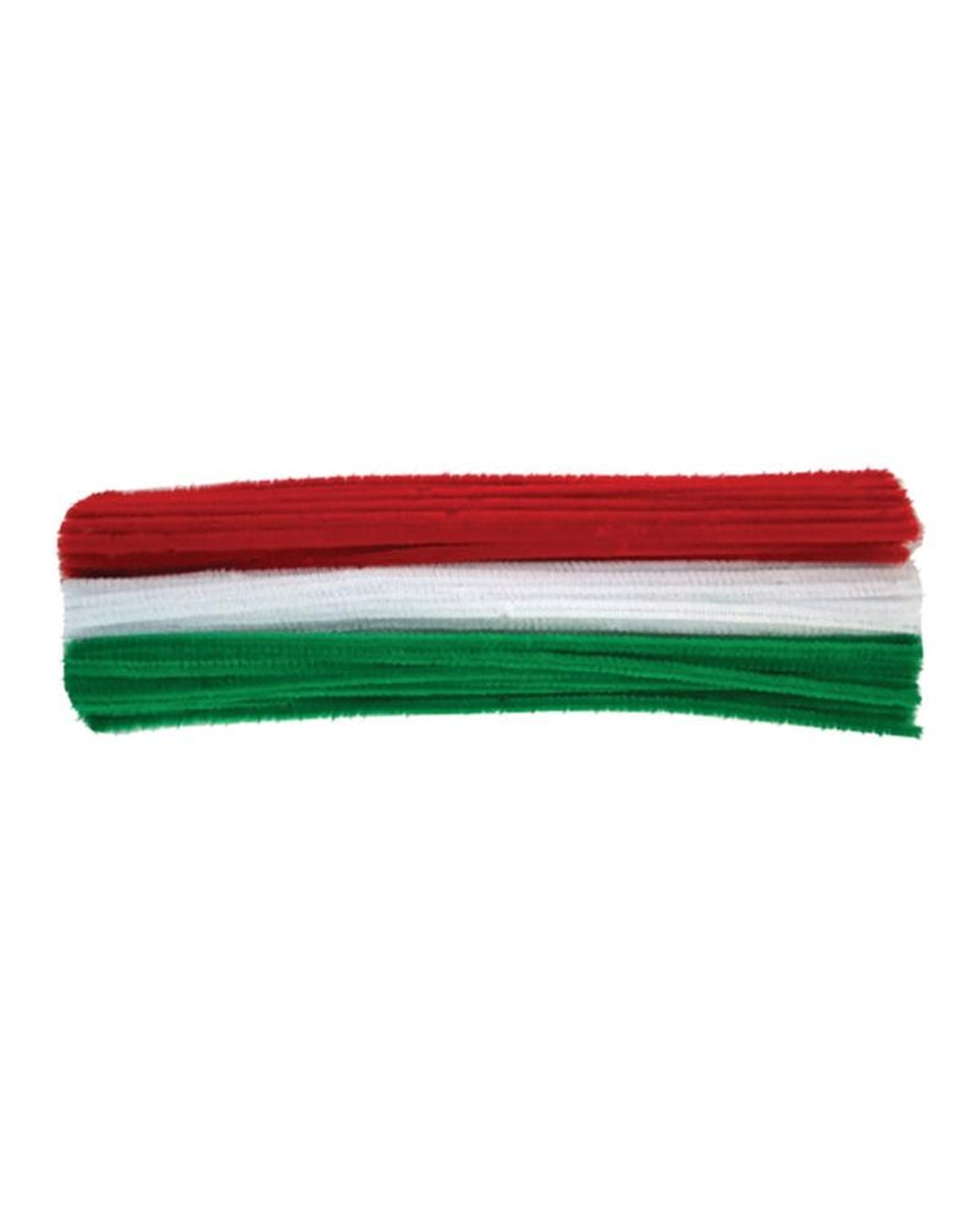Christmas Chenille Pipe Cleaners 6mm x 300mm