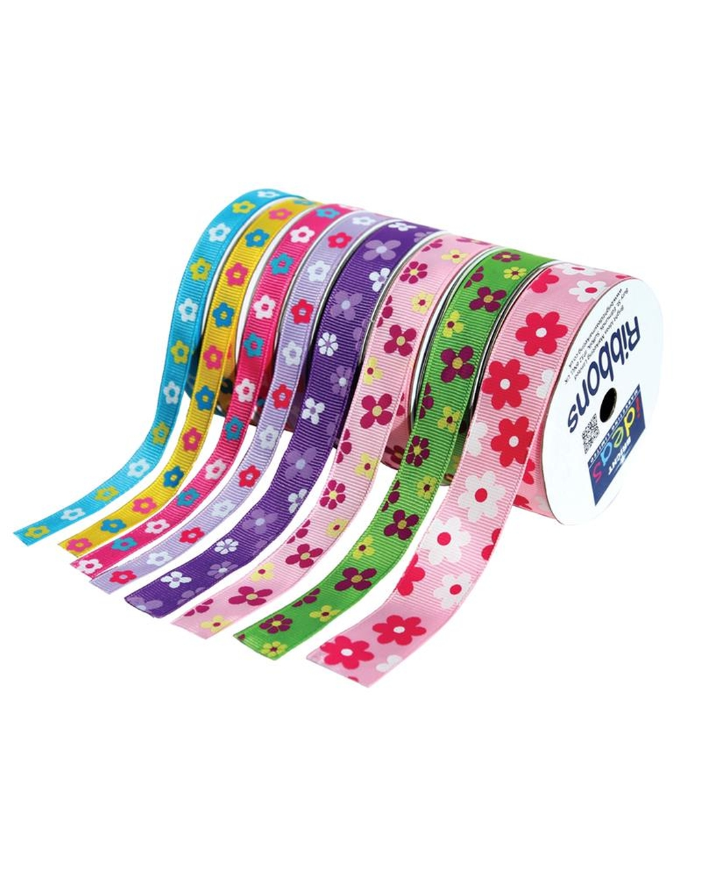 Flowers Ribbons Set Assorted Sizes