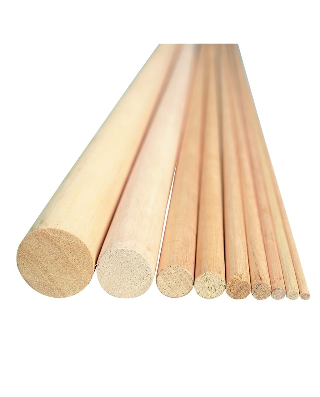 3mm x 600mm Ramin Dowels