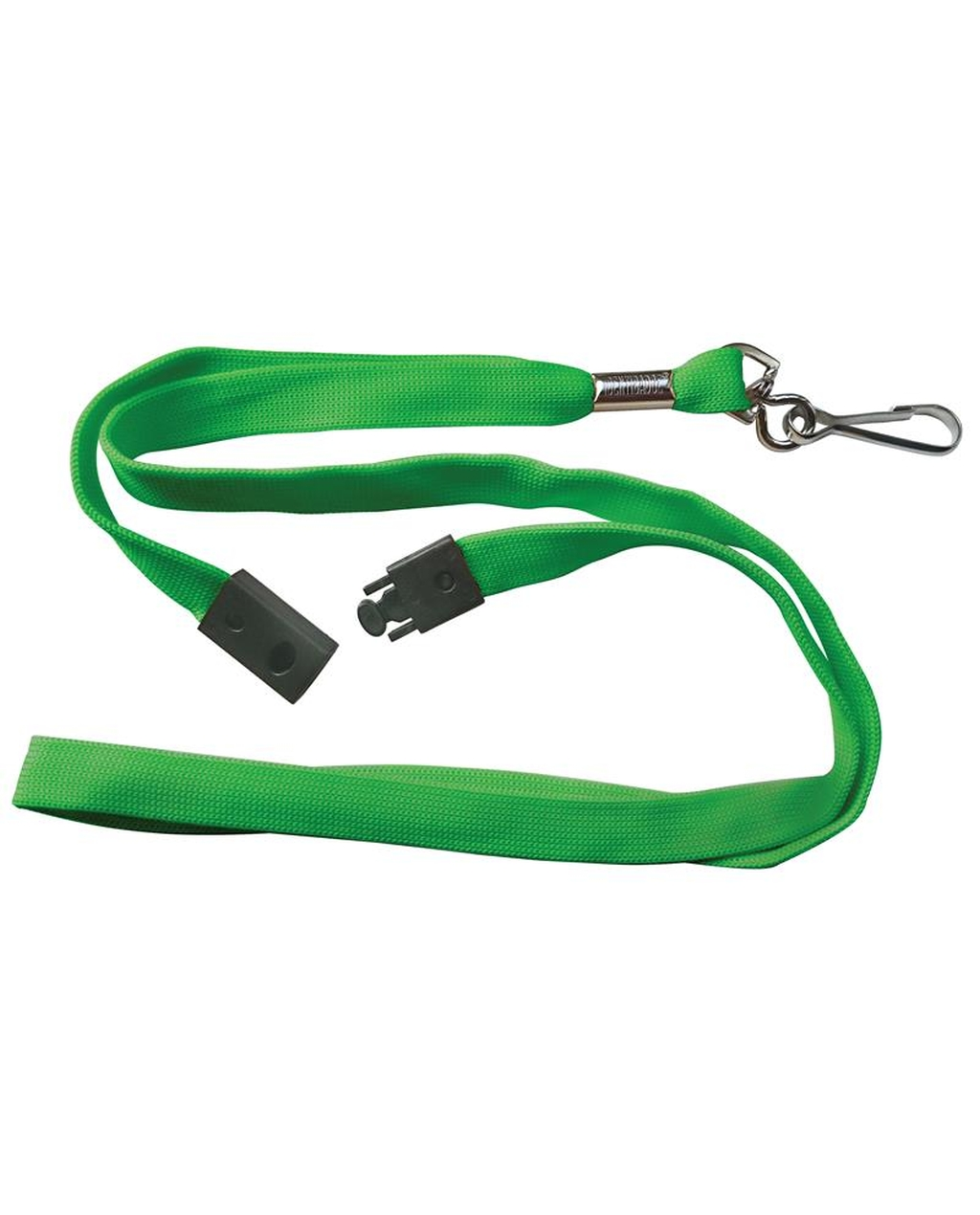10 Breakaway Lanyards - Green
