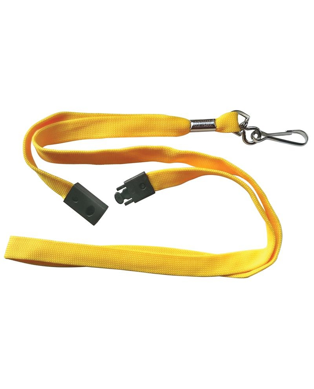 10 Breakaway Lanyards - Yellow
