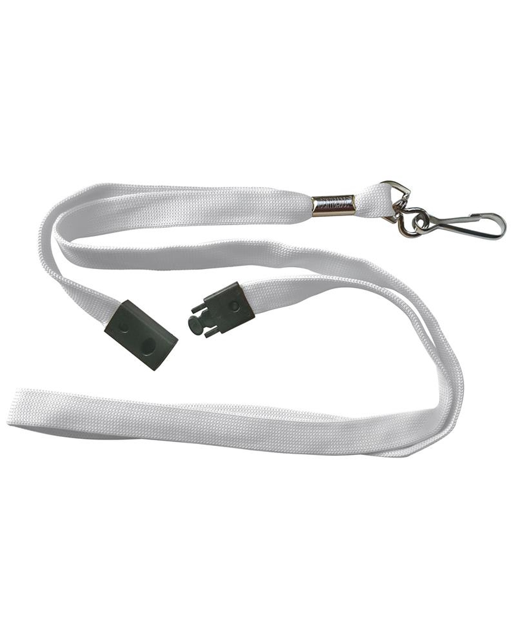 10 Breakaway Lanyards - White