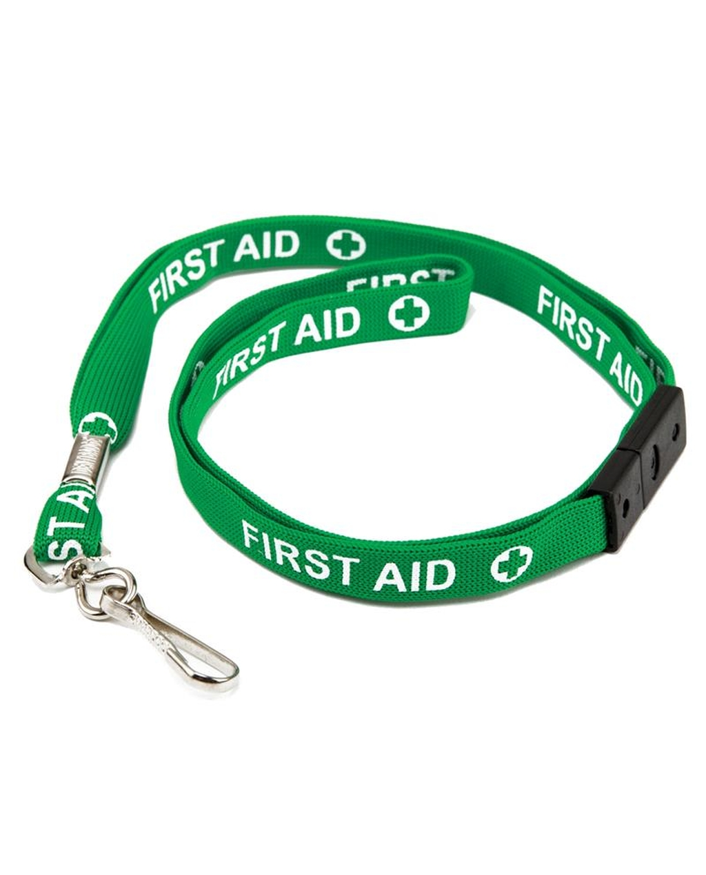 10 Printed Breakaway Lanyard - FIRST AID