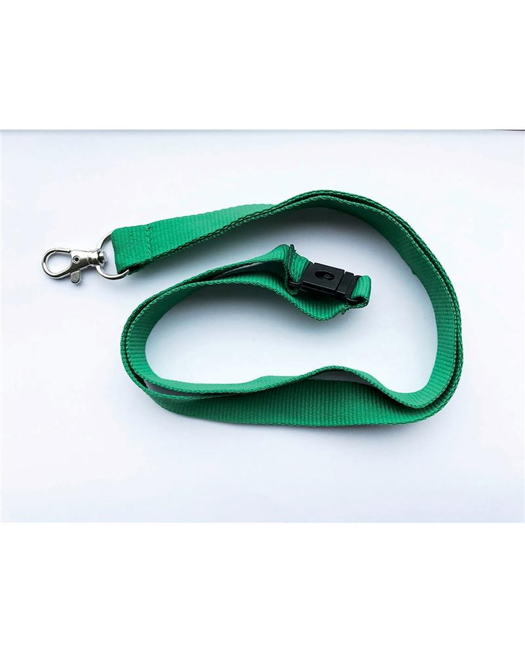 20Mm Lanyards Plain Green Pack Of 100