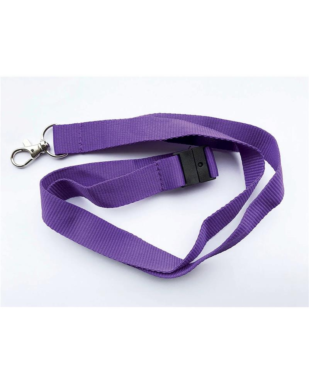 20Mm Lanyards Plain Purplepack Of 100