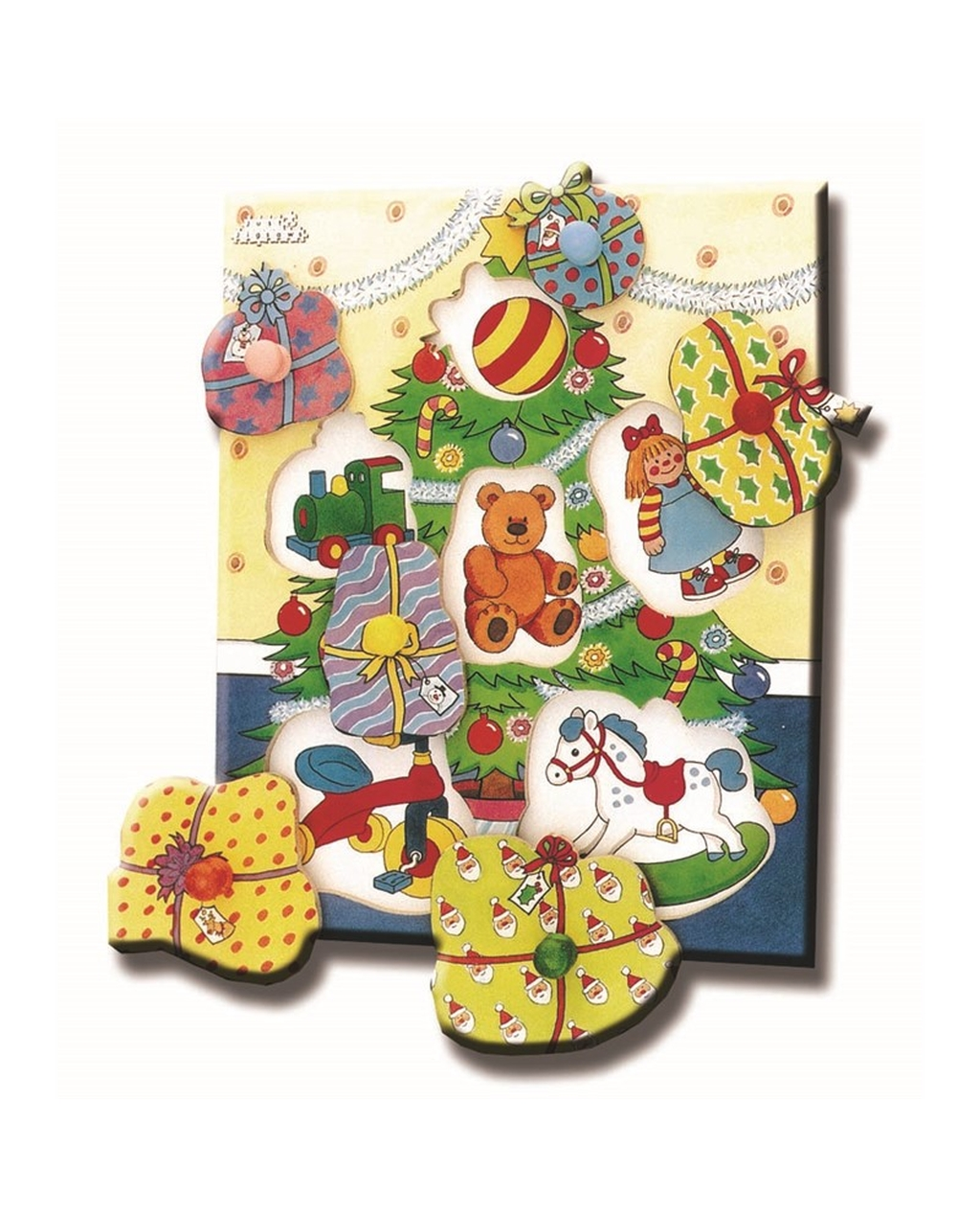 Christmas Tree Peg Puzzle