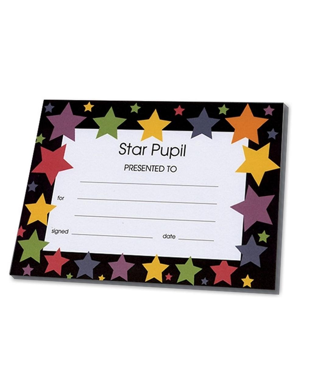 Certifcates - Star Pupil