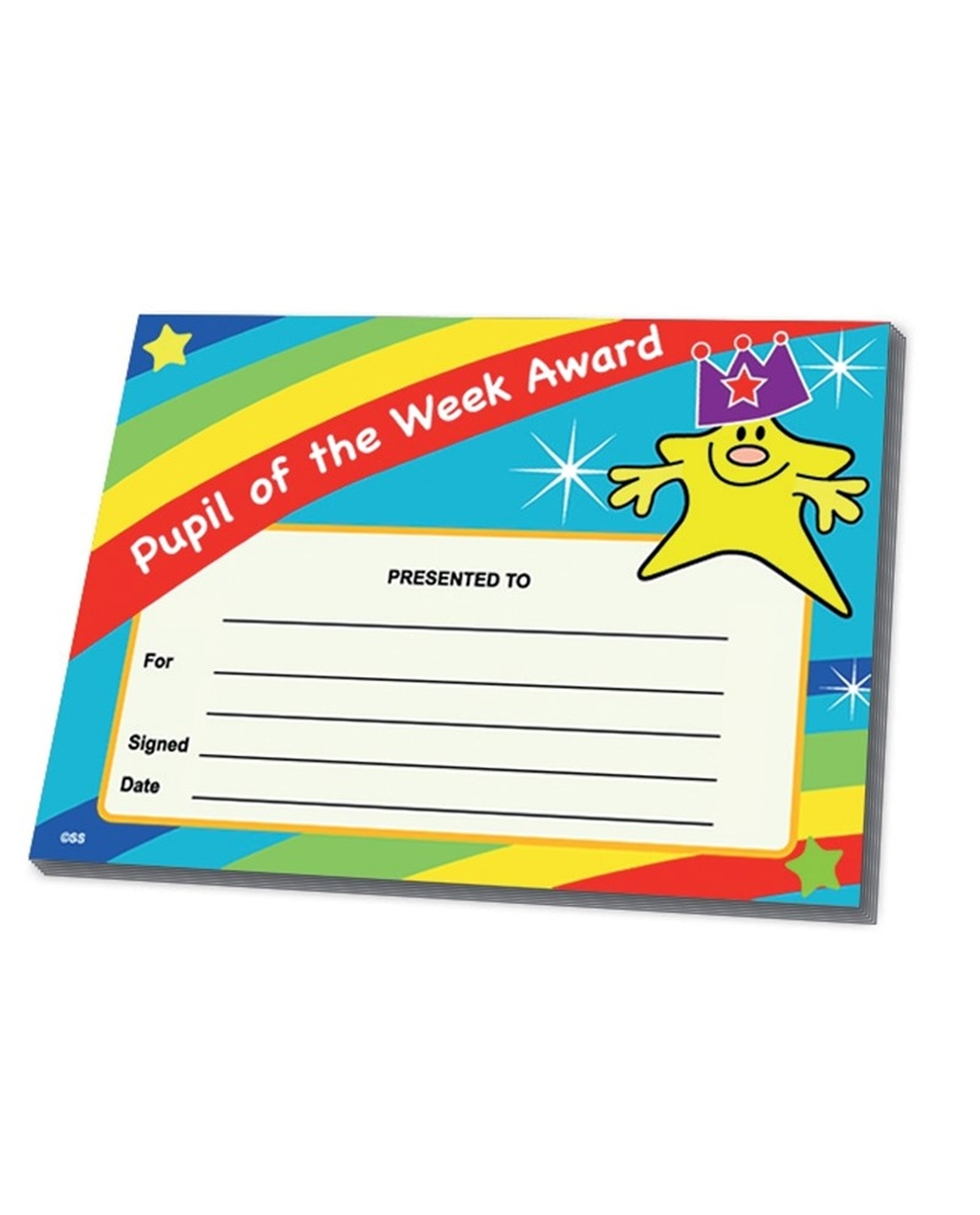 Certificates - Pupil of the Week
