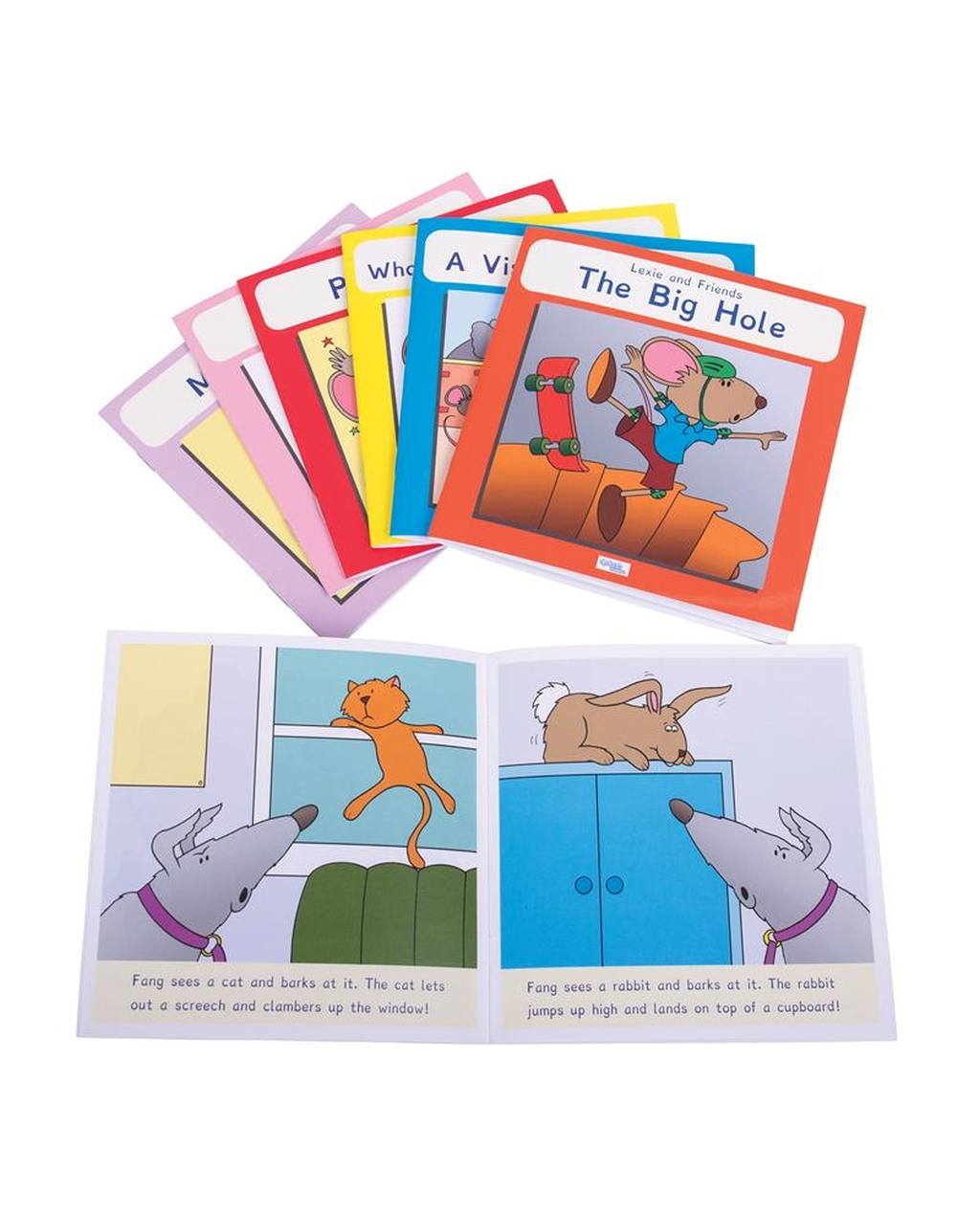Lexie Mouse Phonic Coloured Book Band - Set 1